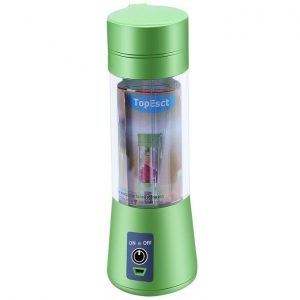 This is an image for this product - Generic 400ml Portable Juice Blender USB Juicer Cup Multi function Fruit Mixer Six Blade Mixinghine Smoothies Baby Food dropshipping(Green) - Jumia Kenya. This product is available for purchase from Jumia Kenya and is sold by WangQ Shop.