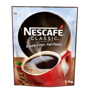 This is an image for this product - Nescafe Classic Pure Soluble Coffee1.6g Nescafe - Jumia Kenya. This product is available for purchase from Jumia Kenya and is sold by Carrefour.