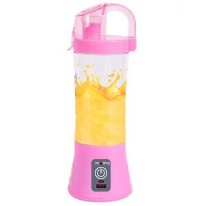 This is an image for this product - Generic USB Rechargeable Blender Mixer Portable Mini Juicer Juicehine Smoothie Maker Household Small Juice Extractor Drop Shipping(Pink) - Jumia Kenya. This product is available for purchase from Jumia Kenya and is sold by WangQ Shop.