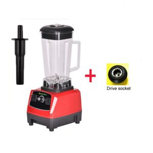 This is an image for this product - Generic 3HP 2200W 2L BPA FREE professional high power blender food mixer juicer stand fruit processor green smoothies(RED EXTRA DRIVER) - Jumia Kenya. This product is available for purchase from Jumia Kenya and is sold by WangQ Shop.