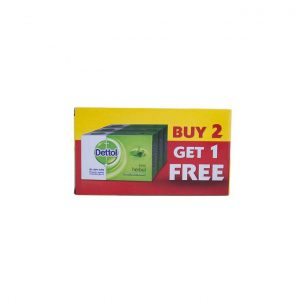 This is an image for this product - Dettol Bar Soap Herbal - 175g (Pack of 3) - Jumia Kenya. This product is available for purchase from Jumia Kenya and is sold by Carrefour.