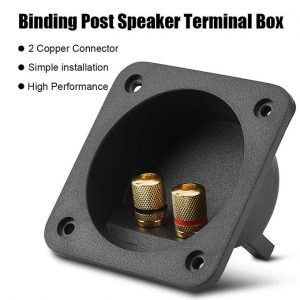 This is an image for this product - Generic Speakers Terminal Box Shell 2 Copper Binding Post Wire Cable Connector Acoustic Components - Jumia Kenya. This product is available for purchase from Jumia Kenya and is sold by Elecision.
