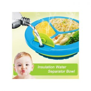 This is an image for this product - Generic Baby Toddler Dining Set Feeding Plate Keep Warm Bowl Divided Plate With Suction - Jumia Kenya. This product is available for purchase from Jumia Kenya and is sold by Babycare Island.