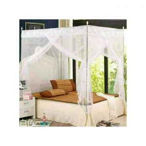 This is an image for this product - Generic Mosquito Net with Metallic Stand - 4X6 - White - Jumia Kenya. This product is available for purchase from Jumia Kenya and is sold by STEP AHEAD SYSTEMS.