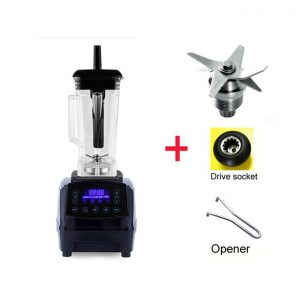 This is an image for this product - Generic Touchscreen Digital Automatic Smart Timer 3HP BPA FREE 2L professional smoothies blender mixer juicer food fruit processor(BLACK FULL PARTS) - Jumia Kenya. This product is available for purchase from Jumia Kenya and is sold by WangQ Shop.