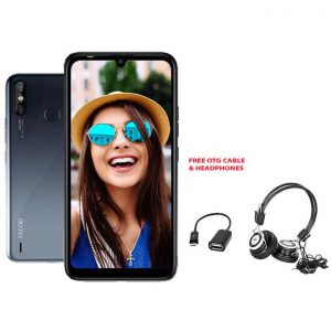 "This is an image for this product - Tecno Spark 4 Air 6.1"", 2GB + 32GB, Dual 4G - Misty Grey + FREE OTG & HEADPHONES - Jumia Kenya. This product is available for purchase from Jumia Kenya and is sold by Orifon."