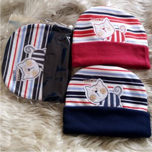 This is an image for this product - Fashion 3PCs Cutest Pure Cotton Caps Multi colored Printed Newborn Baby Caps - Jumia Kenya. This product is available for purchase from Jumia Kenya and is sold by Bold Collection.