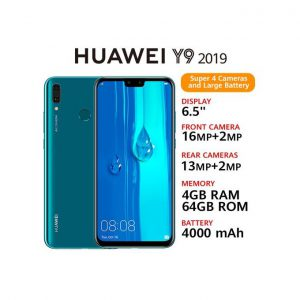 "This is an image for this product - Huawei Y9(2019)- 6.5""- 64GB- 4GB RAM- 16MP+2MP-Dual SIM- Sapphire Blue - Jumia Kenya. This product is available for purchase from Jumia Kenya and is sold by Star Mobile."