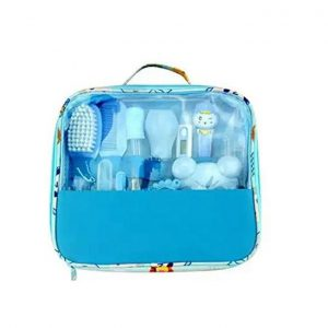 This is an image for this product - Generic Classy Baby Grooming Nursery Healthy Kit with a clear pouch - blue - Jumia Kenya. This product is available for purchase from Jumia Kenya and is sold by Proudly Mum.