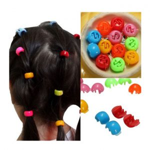 This is an image for this product - Beauty 12Pcs Girls Kids Ponytail Pony Tail Rings Hair Tie Clips Grips Braiding Beads - Jumia Kenya. This product is available for purchase from Jumia Kenya and is sold by BGroyallove.