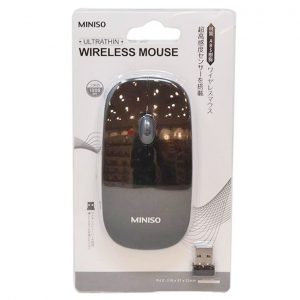 This is an image for this product - Miniso Ultrathin Wireless Mouse Model: WM-287 (Black) . - Jumia Kenya. This product is available for purchase from Jumia Kenya and is sold by MINISO.