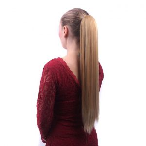 This is an image for this product - Generic Hot Wig female long straight hair grabbing stealth wig pony tail-multi2 - Jumia Kenya. This product is available for purchase from Jumia Kenya and is sold by Mysteryshop.