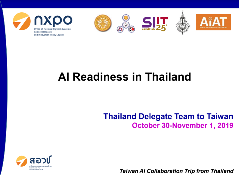 AI Readiness in Thailand
