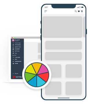 Appmaker app customisation to keep same branding as website