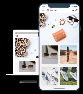 WooCommerce Android app UI design
