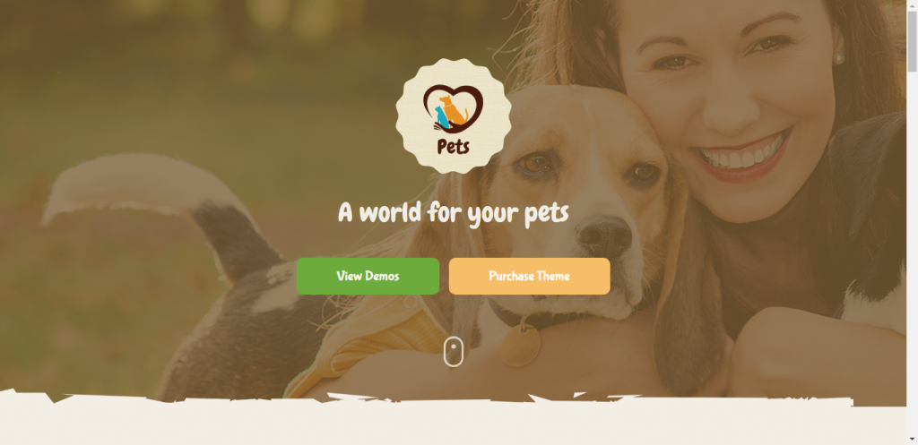 Pet World WooCommerce pet Store theme