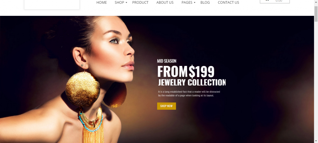 TheMall WooCommerce theme for jewelry