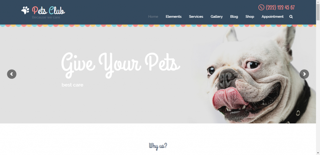 Pet Store WooCommerce theme provided by pet Club