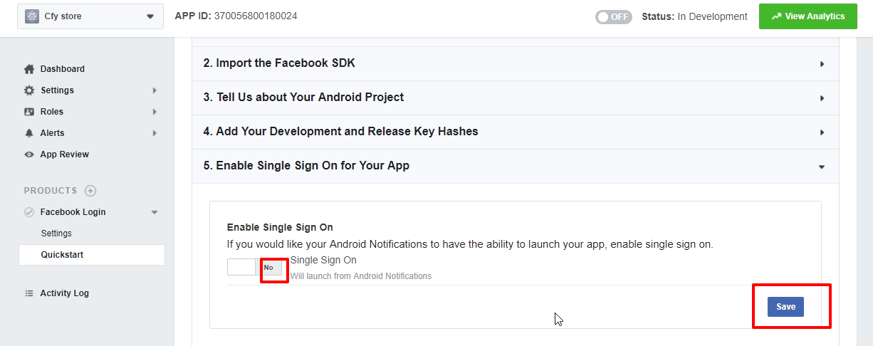 How to setup Facebook login in your App? - Appmaker xyz