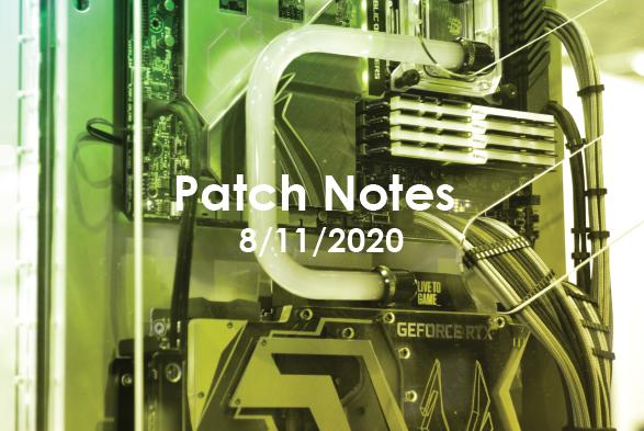 Patch Notes ARCQ B2B