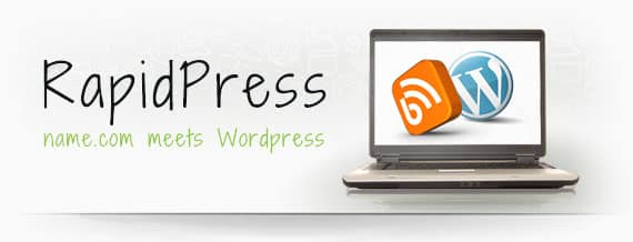 Name.com Brings RapidPress, A Kind Of Hosted All-in-One WordPress Solution 12