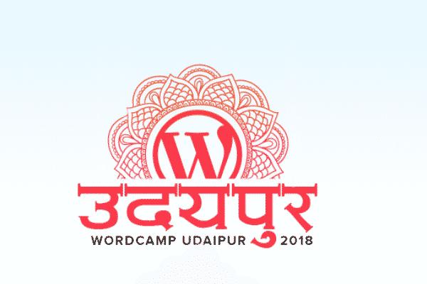 WordCamp Udaipur 2018