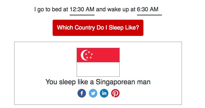 """""""You sleep like a Singaporean man!"""" 10"""
