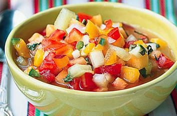 Gazpacho de fruta (v)