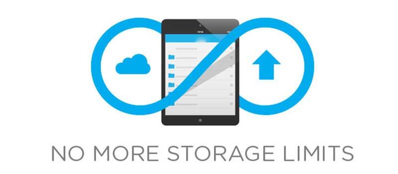 unlimited storage capacity   Backup Everything