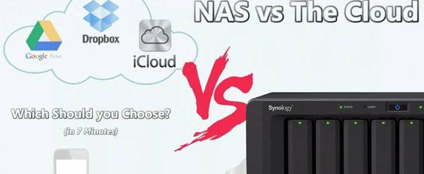 NAS vs Cloud Storage   Backup Everything