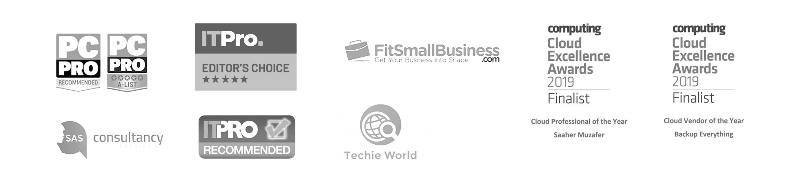 About Us Reviews&Awards Logos