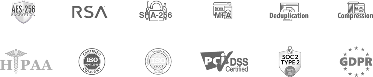 security and compliance icon   Backup Everything