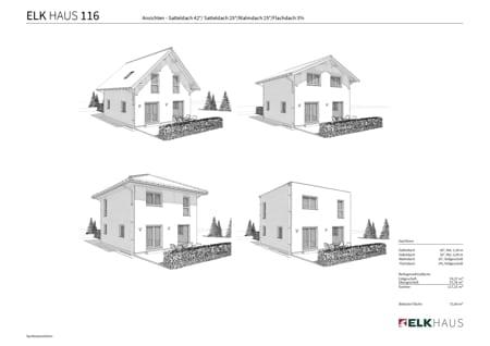 4 Häuser ein Preis