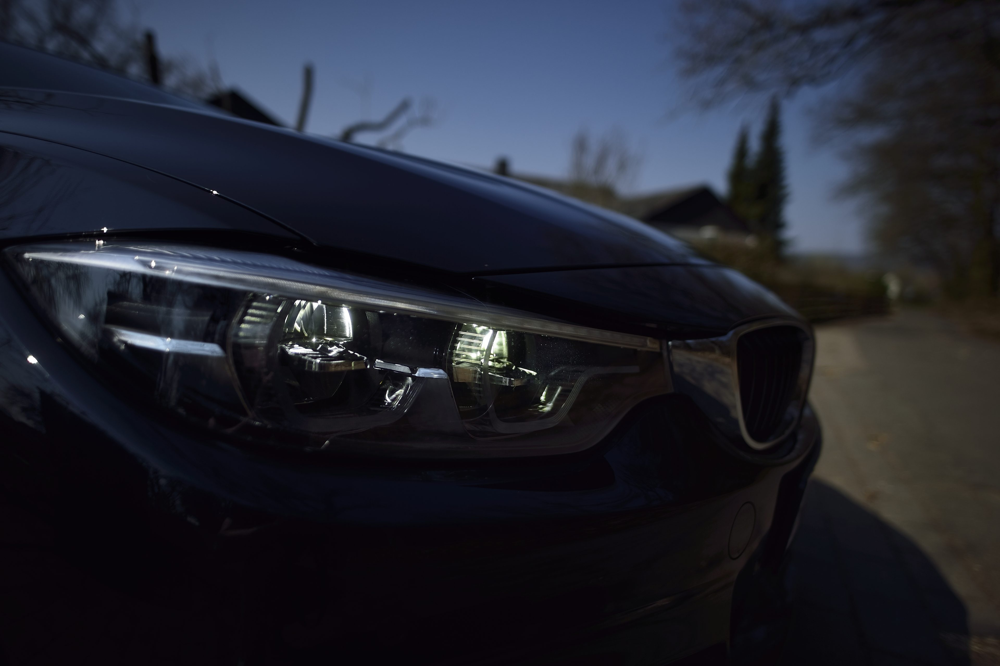 BMW 420d Gran Coupe Carbonschwarz M-Paket Cars F36