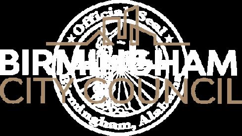 Birmingham Alabama City Council Logo and Text