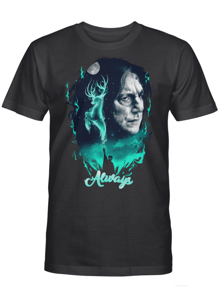 The Magic Of True Love Snape Always Harry Potter Gift Graphic T-shirt Unisex Tshirt