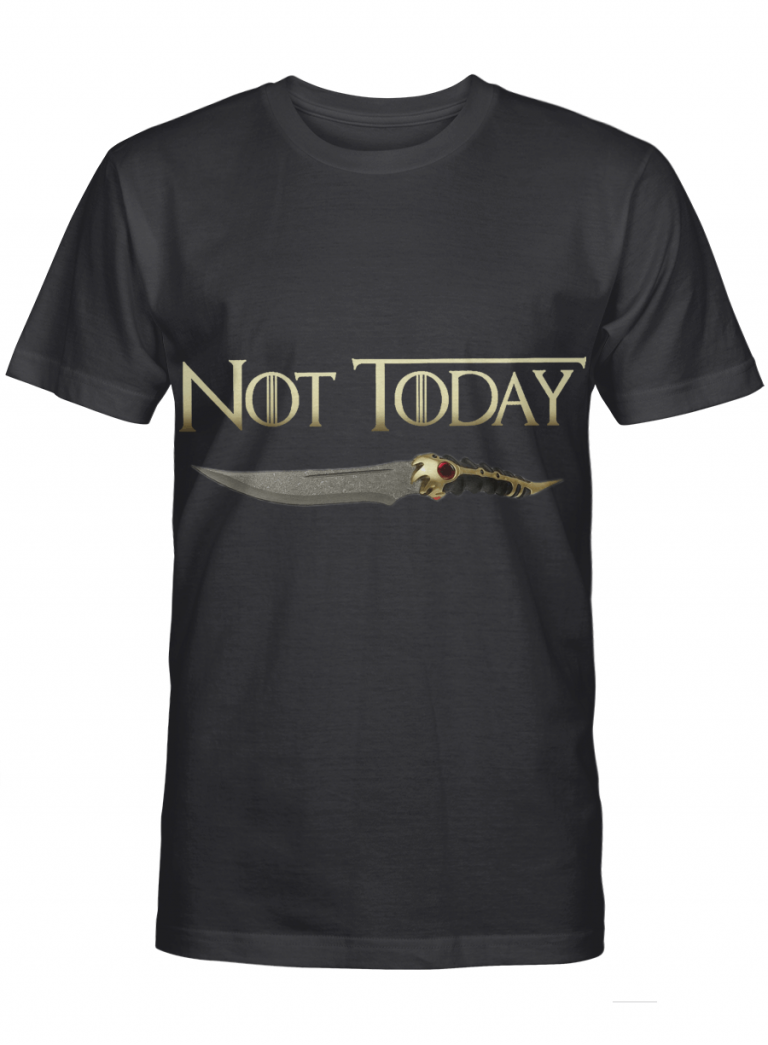Knife Not Today Got Winter Coming Movie Fans Graphic T-shirt Unisex Tshirt