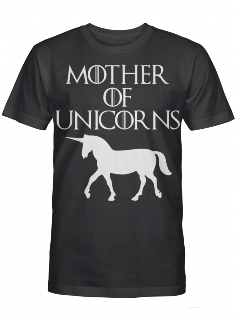 Mother Of Unicorns Got Inspired Fan Gift For Mother Day Graphic T-shirt Unisex Tshirt