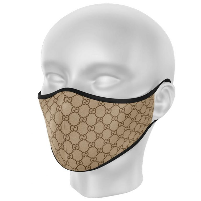 Custom Gucci Inspired Face Mask Fashion Fans Face Cover LongSleeve Tshirt