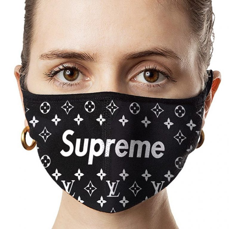 Lv Supreme Fashion Fans - Custom Graphic Printing Gift Ideas Face Neck Gaiters And Bandanas