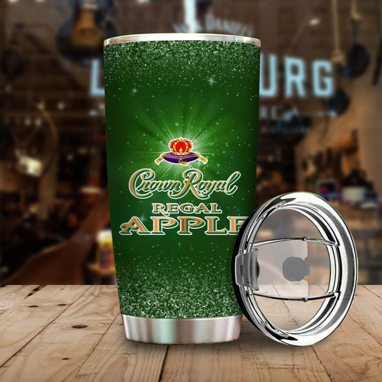 I Only Drink Crown Royal Apple 3 Days A Week Yesterday Today and Tomorrow - Funny Customized Tumbler Cup SweatShirt