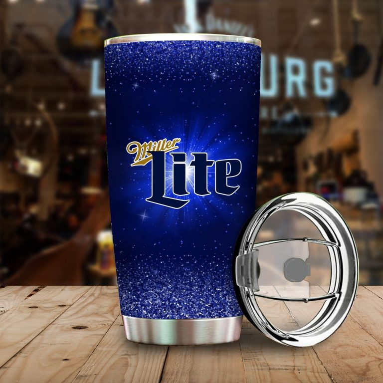 I Only Drink Miller Lite 3 Days A Week Yesterday Today and Tomorrow - Funny Customized Tumbler Cup LongSleeve Tshirt