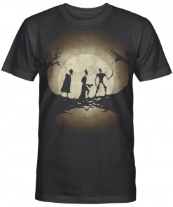 The Three Witches Moon Night Aesthetic Artwork Halloween Gift For Harry Potter Lover Graphic T-shirt Unisex Tshirt
