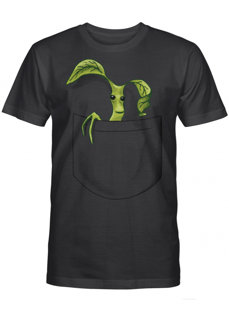 Pickett In Pocket Cute Design Harry Potter Gifts Graphic T-shirt Unisex Tshirt