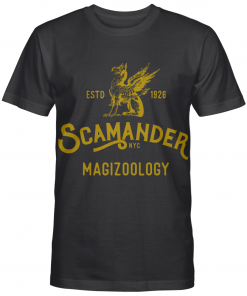 Scamander Magizoology Nyc Sympol Cool Harry Potter Fan Gifts Graphic T-shirt Unisex Tshirt