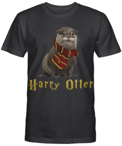 Otter Potter Magic Wizard Otter Cute Harry Potter Fan Gifts Graphic T-shirt Unisex Tshirt