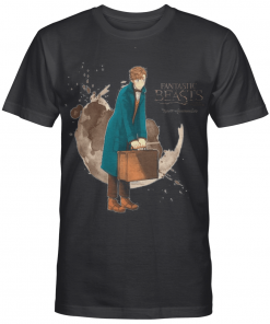 Scamander English Wizard Newton Gift For Harry Potter Fans Graphic T-shirt Unisex Tshirt