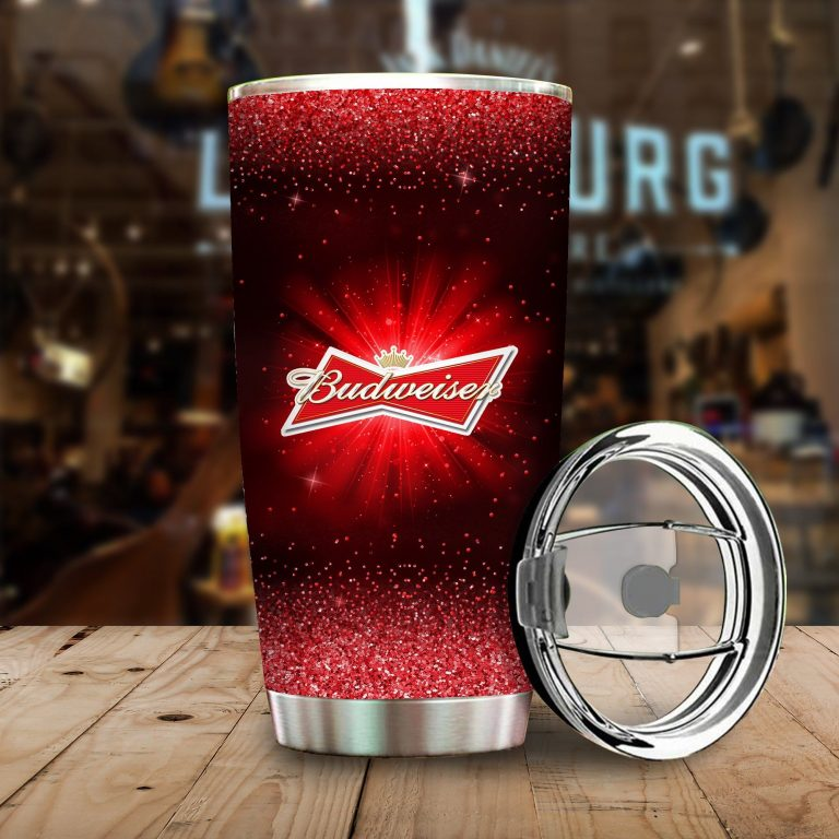 I Only Drink Budweiser 3 Days A Week Yesterday Today and Tomorrow - Funny Customized Tumbler Cup SweatShirt