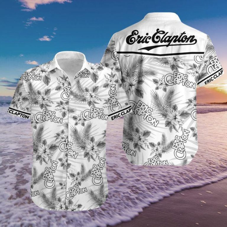 Eric Clapton Summer Outfit Hawaii Aloha Hawaiian shirts Men Women Beach shorts Unisex Tshirt