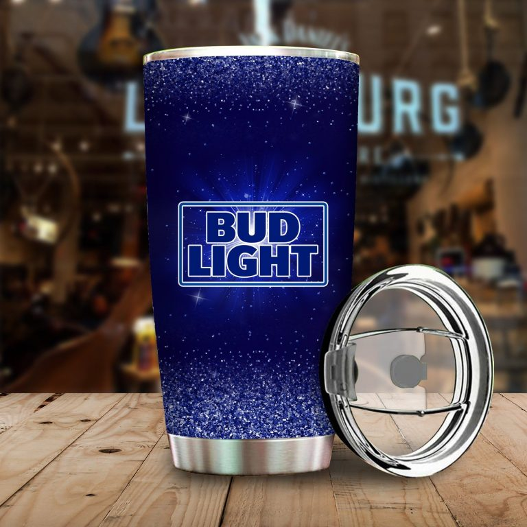 I Only Drink Bud Light 3 Days A Week Yesterday Today and Tomorrow - Funny Customized Tumbler Cup SweatShirt